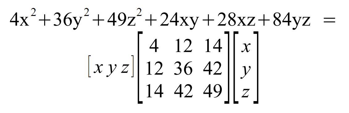 Algebraic formulas and matrix symmetry – blog.bolner.hu